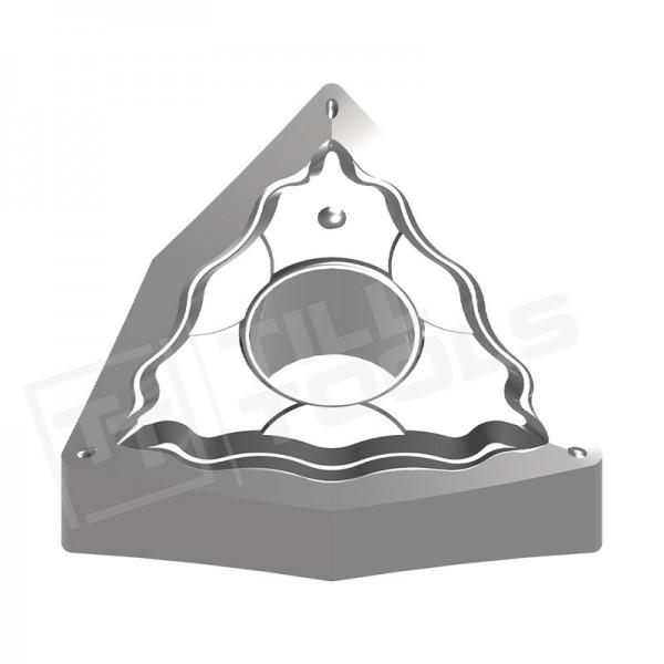 WNMG080402/04/08/12 Wendeschneidplatten für Aluminium