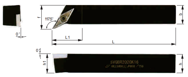 SVQCR-Klemmhalter-Abmessungen