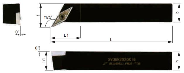 SVQBR-Klemmhalter-Abmessungen