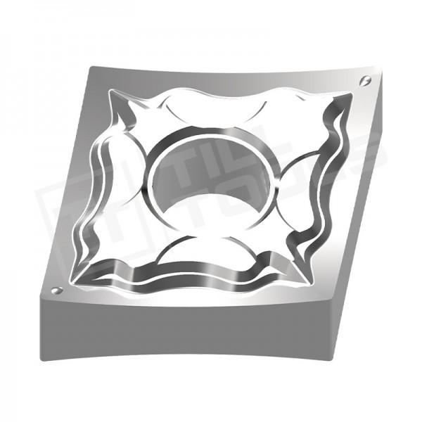 CNMG120402/04/08/12 Wendeschneidplatten Aluminium