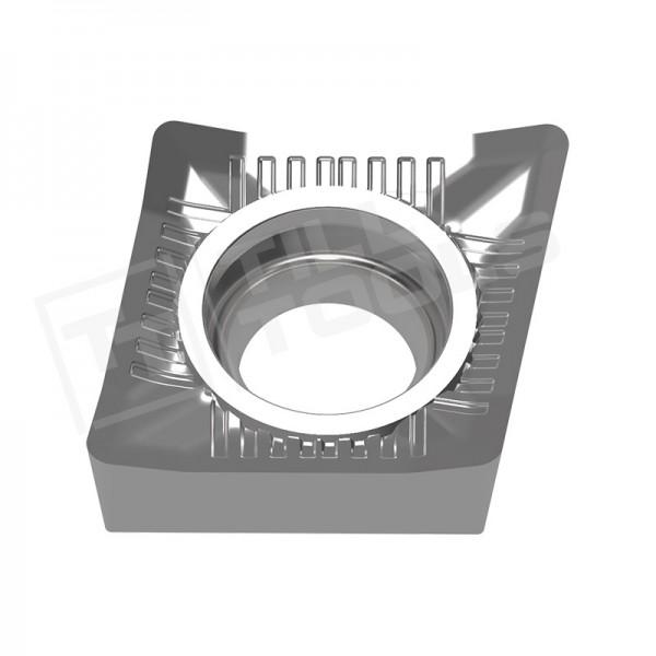 CCGT060202/04/08, CCGT09T3/04/08, CCGT120402/04/08/12 Wendeschneidplatten für Aluminium