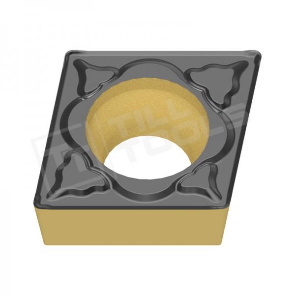 CCMT060204/08, CCMT09T304/08 und CCMT120404/08 Wendeschneidplatten für Stahl, Wendeplatte