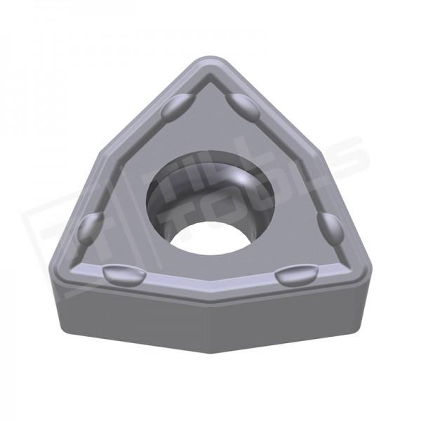 WCMX030208, WCMX040208, WCMX050308, WCMX06T308, WCMX080412 Wendeschneidplatten für Stahl und Edelstahl