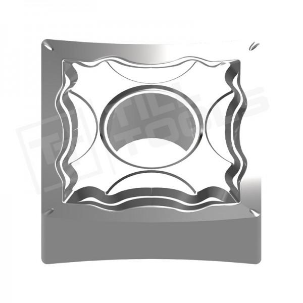 SNMG120402/04/08/12 Wendeschneidplatten Aluminium