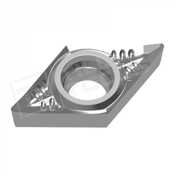 DCGT070202/04/08 und DCGT11T302/04/08 Wendeschneidplatten Aluminium, Wendeplatte für NE-Metalle