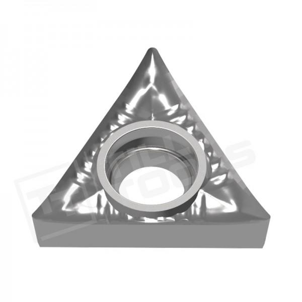 TCGT090202/04/08, TCGT110202/04/08, TCGT16T302/04/08/12 Wendeschneidplatten für Aluminium