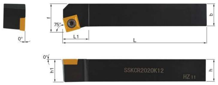 SSKCR-Klemmhalter-Abmessungen