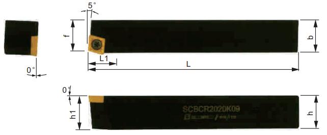 SCBCR-Klemmhalter-Abmessungen