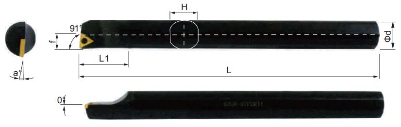 STFCR-Bohrstange-Abmessungen
