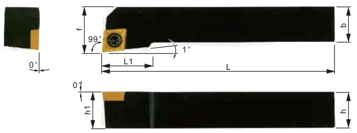 SCGCR-Klemmhalter-Abmessungen