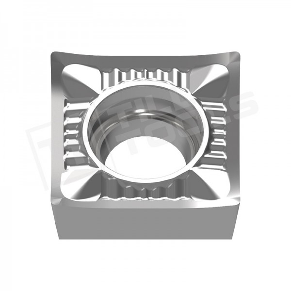SCGT09T302/04/08, SCGT120402/04/08/12 Wendeschneidplatten für Aluminium