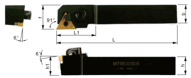 MTGNR-Klemmhalter-Abmessungen