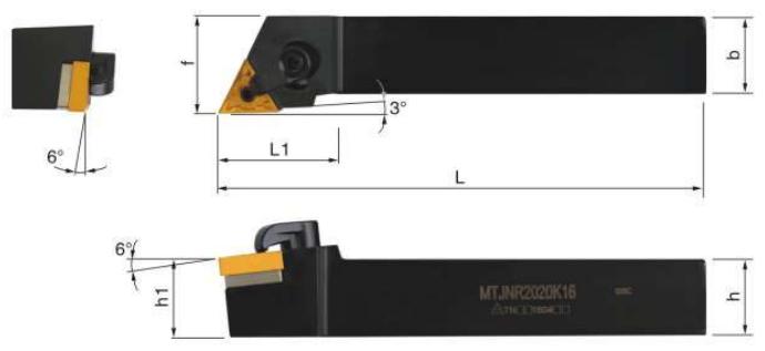 MTJNR-Klemmhalter-Abmessungen