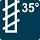 35 Grad Spiralwinkel