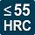VHM-Fräser bis zu einer Härte von 55 HRC