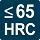 VHM-Fräser bis zu einer Härte von 65 HRC